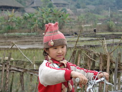 Minority people, girl of minority group, little girl, ha giang people, ha giang hill tribe