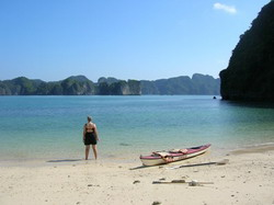 Halong kayak tours, hanoi halong,ha long adventure, water sport, halong trips, ha long cruise